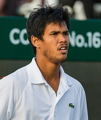 Somdev Devvarman - Somdev Devvarman at the 2015 Wimbledon Qualifying