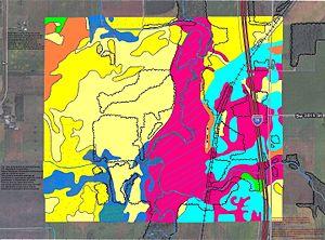 Steele County, Minnesota - Soils of Somerset WMA area