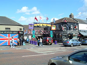 36th (Ulster) Division - An arch in the Shankill Road area of Belfast commemorating the 36th Ulster Division.