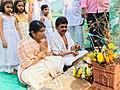Somvati Mahayag at Veerabhadra Devathan Vadhav in presence of Balyogi Om Shakti Maharaj. 11.jpg