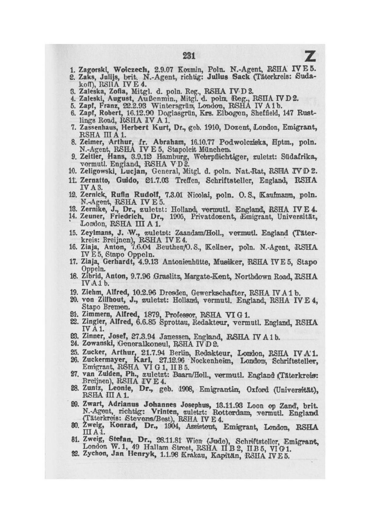 Ellis Island Documents Secondes