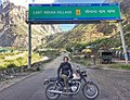 Sonia Jain at Mana Village on Triumph T100 Motorcycle.jpg