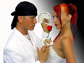 Sos and Victoria Petrosyan - Image: Sos Victoria Petrosyan Quick Change Magicians
