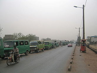 Bamako - Taxi vans in Bamako