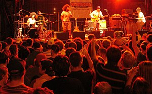 Soulive - Soulive and Reggie Watts performing at the Rochester International Jazz Festival in 2006