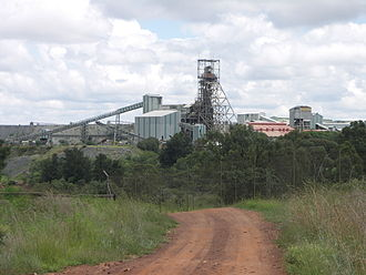 Mining industry of South Africa - Premier Diamond Mine, Cullinan, Gauteng, South Africa