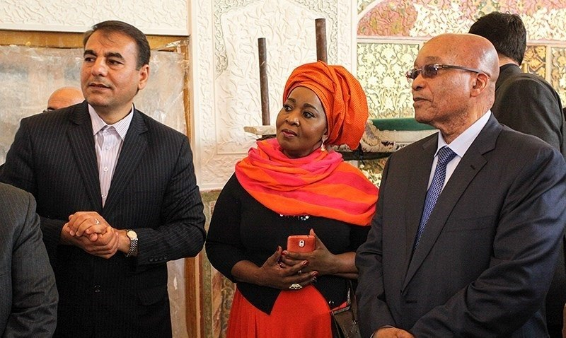 South African President Jacob Zuma in Isfahan 08
