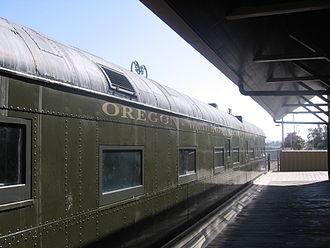 Oregon Railroad and Navigation Company - Image: South Bay Historical Railroad Society 1359 05