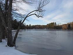 South end of Tuxbury Pond, Amesbury MA.jpg