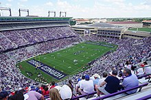 Southern Methodist vs. Texas Christian football 2019 01 (opening kickoff).jpg