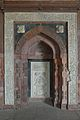 Southernmost Mihrab - Qila-e-Kuhna Masjid - Old Fort - New Delhi 2014-05-13 2875.JPG