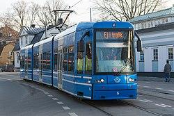 Spårvagn Djurgårdsvägen January 2013. jpg