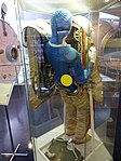 Space suits in Memorial Museum of Cosmonautics, Moscow, Russia, 2016 27.jpg