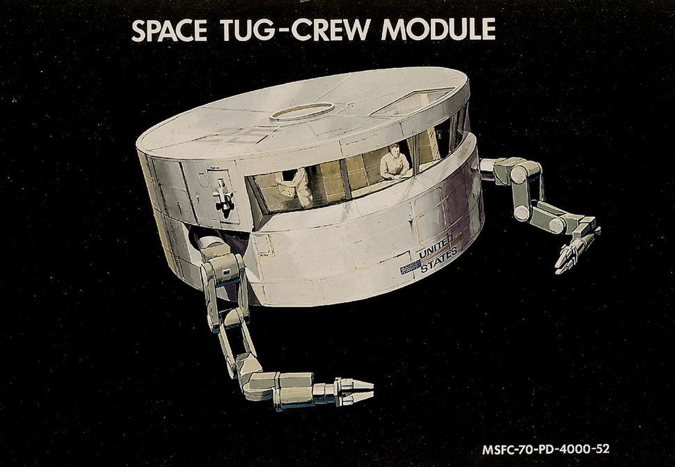 Space tug module for astronauts