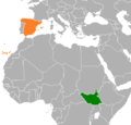 Spain South Sudan Locator.png