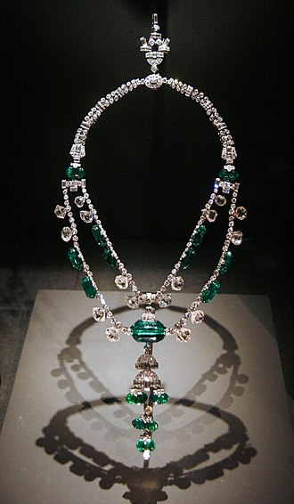 Spanish Inquisition Necklace - The Spanish Inquisition Necklace on display at the Smithsonian Institution
