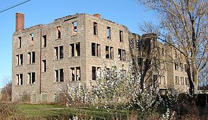 Spanish, Ontario - Remains of the residential school in 2008.