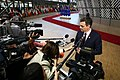 Spanish PM at the April 10, 2019 Extraordinary European Council 02.jpg