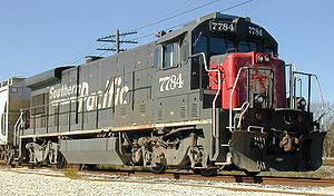 GE Dash 7 Series - A Southern Pacific B30-7.