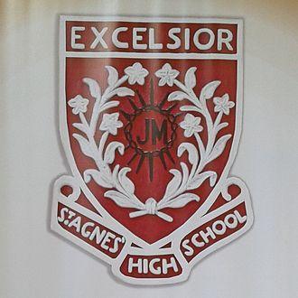 St. Agnes High School, Mumbai - Image: St. Agnes School Mumbai Emblem