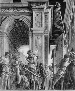 St. James Led to His Execution - Image: St. James led to his execution