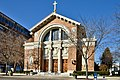 St. Joseph Catholic Church, Dayton, Ohio, facade from southeast.jpg