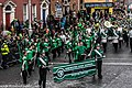 St. Patrick's Day Parade (2013) In Dublin - Brewster High School Marching Bears, New York, USA (8566318344).jpg