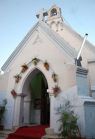 Hisar (city) - St. Thomas' Church c1860