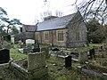 St Anne's Church and graveyard, Talygarn - geograph.org.uk - 5654134.jpg