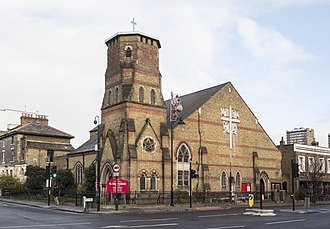 St Barnabas's, Bethnal Green - Image: St Barnabas, Grove Road, Bethnal Green (geograph 5618254)