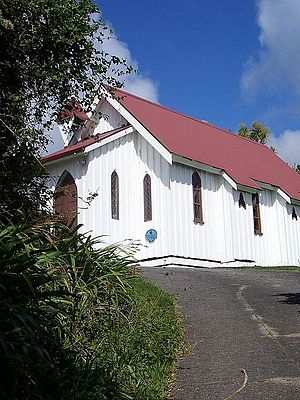 Collingwood, New Zealand - St Cuthbert's Church, Collingwood