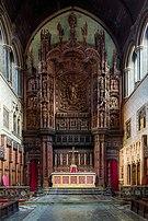 St Cuthbert's Church Philbeach Gardens Reredos, London, UK - Diliff.jpg