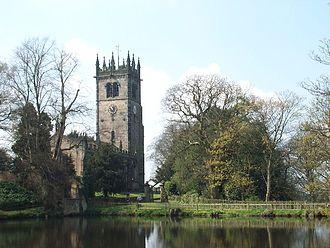 Gawsworth - Image: St James' Church, Gawsworth