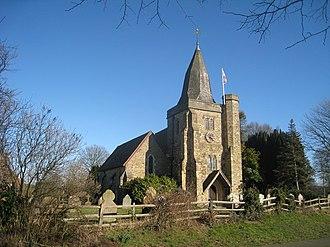 Ewhurst, East Sussex - Image: St James Church, Ewhurst Green geograph.org.uk 1741430