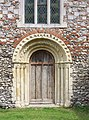 St Mary, Aldeby, Norfolk - West doorway - geograph.org.uk - 1482490.jpg