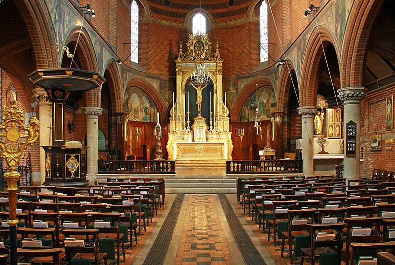 File:St Mary, Bourne Street, London SW1 - East end - geograph.org.uk - 1874722.jpg