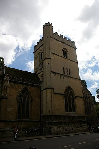 Magdalen Street - Image: St Mary Magdalen, Oxford geograph.org.uk 505443