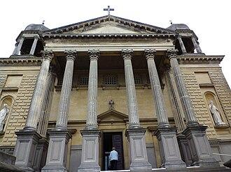 St Patrick's Basilica, Oamaru - Image: St Patricks Oamaru NZ ext 1