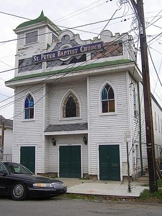 Seventh Ward, New Orleans - St. Peter Baptist Church