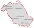 Stadtbezirk Ehrenfeld nur Grenzen.PNG