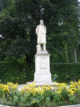 Stadtpark Graz - Moritz Ritter von Franck