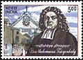 Stamp of India - 2006 - Colnect 507178 - 3rd cent of the Arrival of B Ziegenbalg in India.jpeg