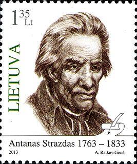 Antanas Strazdas Lithuanian poet