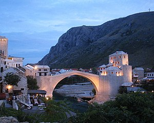 Herzegovina-Neretva Canton - Image: Stari Most September 2004 4