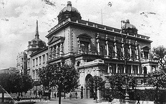 Stari dvor - Old Palace in 1926