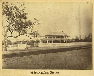 Allora, Queensland - Glengallan House, near Allora, circa 1875