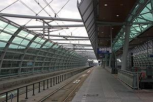 Houten railway station - Image: Station Houten (2011 01 17)