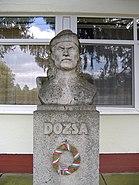 Statue of Dózsa György in Apátfalva