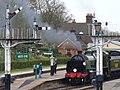 Steam Locomotive, Horsted Keynes - geograph.org.uk - 751585.jpg