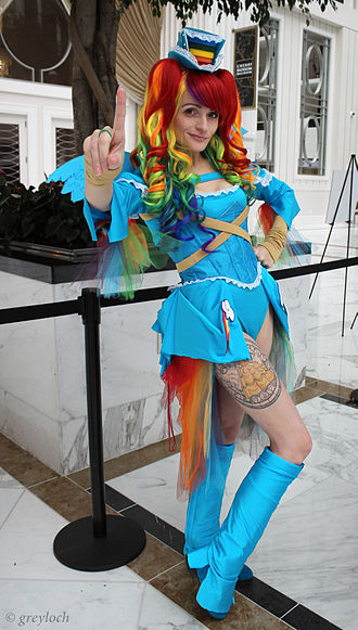 My Little Pony - My Little Pony inspired cosplay.